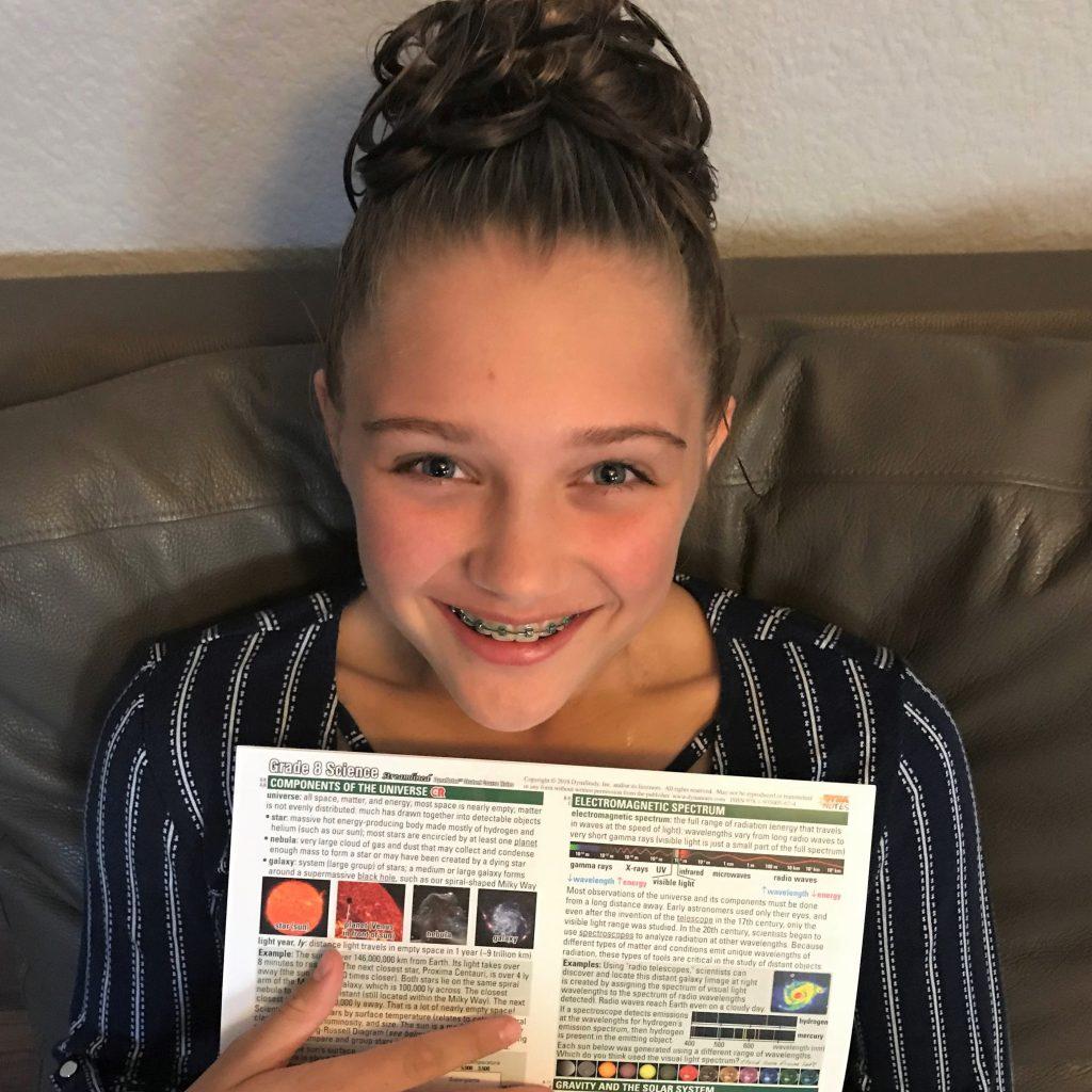 DynaNotes Grade 8 Science Home Study Session